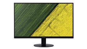 "Acer SA240YAbi, 23.8"" Wide IPS LED, ZeroFrame, Anti-Glare, Ultra-thin, 4ms, 100М:1 DCR, 250 cd/m2, 1920x1080 FullHD, VGA, HDMI,Tilt, Black"