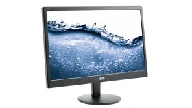 "AOC E2070SWN, 19.5"" Wide TN LED, 5ms, 20М:1 DCR, 200 cd/m2, 1600x900 HD+, Black"