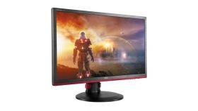 "AOC G2460PF, 24"" Wide TN LED, 1 ms, 80М:1 DCR, 350 cd/m2, FullHD 1920x1080, USB, DVI, HDMI, DP, Speakers, Black/Red"