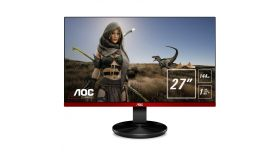 "AOC G2790PX Gaming 27"" Wide TN LED, 144Hz FreeSynk, 1 ms, 1000:1, 20М:1 DCR, 400 cd/m2, FullHD 1920x1080, USB, D-sub, HDMI, DP, Speakers, Black/Red"