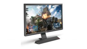 """BenQ Zowie RL2755, 27"""" Wide TN LED, 1ms GTG, 1000:1, 12M:1 DCR, 300 cd/m2, 1920x1080 FullHD, VGA, DVI, HDMI, Speakers, Dark Grey"""