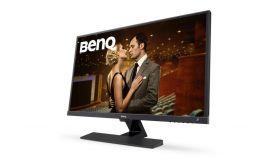 """BenQ EW3270ZL, 32"""" Wide AMVA LED, 4ms GTG, 3000:1, 20M:1 DCR, 300 cd/m2, 2560x1440 WQHD, VGA, HDMI, DP/mini DP, Speakers, Black"""