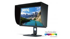 """BenQ SW320, 31.5"""" Wide IPS LED, 5ms, 1000:1, 350 cd/m2, 3840x2160 4K UHD, AdobeRGB 99%, DVI, HDMI, DP, USB 3.0 Hub, Card Reader, Height Adjustment, Pivot, Swivel, Grey"""