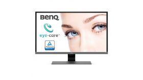 """BenQ EW3270U, 31.5"""" Wide VA LED, 4ms, 3000:1, 20M:1 DCR, 300 cd/m2, 3840x2160 UHD, HDMI, DP, USB Type-C, Speakers, Metallic Grey"""