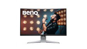 "BenQ EX3203R, 31,5"" Wide VA Curved LED, 1800R, FreeSync2, 144Hz, 4ms, 3000:1, 20M:1 DCR, 400 cd/m2, 2560x1040 QHD, HDR, HDMI, DisplayPort, USB Type-C, Gray"
