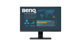BenQ BL2480, Stylish Eye Care Monitor, 23.8'' IPS LED, 5ms, 1920x1080 FHD, 72% NTSC, Flicker-free, B.I., LBL, 1000:1, DCR 20M:1, 8 bit, 250cd/m2, VGA, HDMI, DP, Audio Line In, Speakers, Tilt, Slim Bezel Design, Black