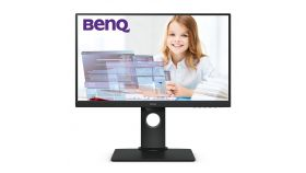 BenQ GW2480T, 23.8'' IPS, 5ms, 1920x1080 FHD, Business Eye Care Monitor, 72% NTSC, Flicker-free, B.I., LBL, 1000:1, DCR 20M:1, 8 bit, 250cd/m2, VGA, HDMI, DP, Audio Line In, Speakers, Ergonomic Slim Bezel Design, Height Adj. Pivot, Swivel, Tilt, Blac