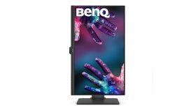 "BenQ PD2705Q, 27"" IPS LED, 5ms, 2560x1440 2K QHD, Designer Monitor, AQCOLOR, 100% sRGB, HDR10, B.I., LBL, KVM, ICCsync, CAD/CAM, DualView, Contrast 1000:1, 300 cd/m2, HDMI, DP, USB Type-C(Power 65W, DP alt), Speakers 2x2W, Height Adj., Swivel, Tilt,"