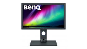 """BenQ SW271C, 27"""" IPS, 5ms, 3840x2160 4K, Photographer Monitor, 99.9% AdobeRGB, 90% P3, HDR10/HLG & 24/25/30p, AQCOLOR, Paper Color Sync, Puck G2, 1000:1, 16 bit 3D-LUT, 300 cd/m2, HDMI x2, DP, USB Type-C PD60W, USB 3.1 Hub, Card Reader, Height Adj. 1"""