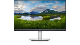 "Dell S2721D, 27"" Wide LED AG, IPS, 4ms, 1000:1, 350 cd/m2, QHD 2560x1440, 75Hz, 99% sRGB, AMD FreeSync, HDMI, DP, Line-out port, Speakers, Height Adjustable, Pivot, Swivel, Tilt, Black Bazel, Platinum Silver"