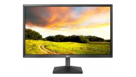 "LG 22MK400A-B, 21.5"" LED TN, AG, 5ms GTG, 600:1, Mega DFC, 250cd/m2, Full HD 1920x1080, D-Sub, Tilt, Black"