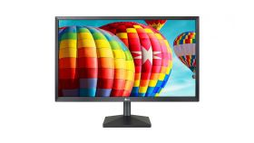 "LG 24MK430H-B 23.8"" Wide LED, IPS Panel Anti-Glare, 5ms GTG, 1000:1,Mega DFC, 250cd/m2, Full HD 1920x1080, FreeSync, D-Sub, HDMI, Tilt, Headphone Out, Matt Black"