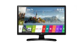 """LG 24MT49S-PZ, 23.6"""" VA, LED non Glare, Smart webOS, 1000:1, 5000000:1 DFC, 250cd, 1366x768, HDMI, CI Slot, TV Tuner DVB-T2/C/S2, DVR ready, Speaker, USB 2.0, LAN, Wi-Fi Glossy Black"""