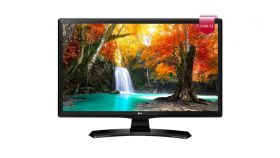 "LG 24MT49VF-PZ, 23.6"", LED non Glare, 5 ms GTG, 1000:1, 5000000:1 DFC, 250 cd/m2, 1366x768, HDMI, CI Slot, TV Tuner DVB-/T2/C/S2, Speaker, USB 2.0,PIP, Stand  ArcLine, Black"