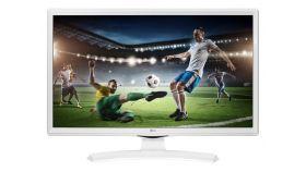 """LG 24TK410V-WZ, 23.6"""" WVA, LED non Glare, 5ms GTG, 1000:1, 5000000:1 DFC, 250cd, 1366x768, HDMI, CI Slot, TV Tuner DVB-T2/C/S2 (MPEG4), Speaker 2x5W, USB 2.0, White"""