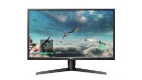 "LG 27GK750F-B, 27"" TN, AG, 2ms, (1ms with MBR) 144Hz, Mega DFC, 400cd/m2, Full HD 1920x1080, 144Hz, HDMI, DisplayPort, USB3.0 (1up/2down) Support Quick Charge, AMD Free-sync, Height, Pivot, Tilt, Headphone Out, Black"