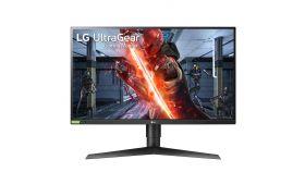 "LG 27GN750-B, 27"" UltraGear IPS, 1ms (GtG at Faster), 240Hz, 1000:1, 400cd/m2, Full HD 1920x1080, Radeon FreeSync, G-Sync Compatible, HDR 10, sRGB 99%, USB, HDMI, DisplayPort,  Height Adjustable, Tilt, Pivot, Black"
