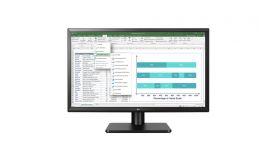 """LG 27QD58P-B, 27"""" Wide LED, IPS Panel Anti-Glare, 5ms, 1000:1, Mega DFC, 250 cd/m2, 2560 x 1440, Integrated speakers 2 x 1.2W, 2x HDMI, DisplayPort, FreeSync,Tilt, Black"""