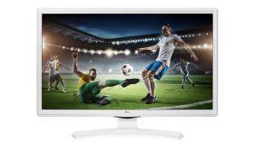 """LG 28TK410V-WZ, 27.5"""", 5ms GTG, 1000:1, 5M:1 DFC, 250 cd, 1366 x 768, HDMI, TV Tuner DVB-T2/C/S2, Speaker 2x5W, USB 2.0, White"""
