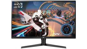 "LG 32GK650F-B, 31.5"" QHD (2560 x 1440) VA Anti Glare, 5ms, (1ms with MBR) 144Hz, 3000:1, 350cd/m2, Radeon FreeSync, HDMI, DisplayPort, Height, Pivot, Tilt, Swivel, Headphone Out, Black"