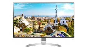 "LG 32UD99-W, 31.5"" 4K UHD (3840 x 2160) IPS Anti-Glare, 5 ms, 1300:1, Mega DFC, 350 cd/m2, 2 x HDMI, DisplayPort, USB type-C, 5W x 2 Speaker, FreeSync, Tilt, Height Adjustable, Pivot, PBP, Headphone Out, Silver spray"