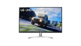 "LG 32UN500-W, 31.5"" Wide LED AG, VA, DCI-P3 90%, 4ms, 350 cd/m2, 3000:1, 3840x2160, HDR 10, HDMI, DisplayPort, Radeon FreeSync, Dynamic Action Sync, Headphone out, Tilt, Speaker, Black"