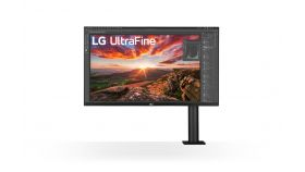 "LG 32UN880-B, 31.5"" UltraFine Ergo 4K, IPS AG, DCI-P3 95%, 5ms, 350 cd/m2, 1000:1, 3840x2160, HDR 10, USB Type-C, USB, HDMI, DisplayPort, AMD FreeSync, Speaker 5Wx2, Game Mode, Reader Mode, PIP, Tilt/Height/Swivel/Pivot/ Extend/Retract, Black"