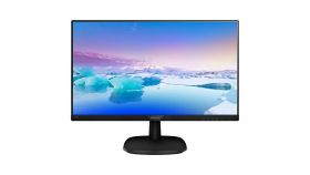 "Philips 243V7QDSB, 23.8"" Ultra Narrow Wide IPS LED, 5 ms, 1000:1, 10М:1 DCR, 250 cd/m2, FHD 1920x1080@60Hz, Flicker-Free, Low Blue, D-Sub, DVI, HDMI, Black"