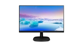 "Philips 243V5LHAB, 23.6"" Wide TN LED, 1 ms, 10M:1 DCR, 250 cd/m2, 1920x1080 FullHD, HDMI, Speakers, DP, Black"