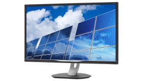 "Philips 328B6QJEB, 32"" Wide IPS LED, 5 ms, 1200:1, 50М:1 DCR, 250 cd/m2, 2560x1440@60Hz, Flicker-Free, Pivot, Heigh Adjust, USB, D-Sub, DVI, HDMI, DP, Headphone Out, Speakers, Black"