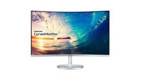 """Samsung C27F591FDUX, 27"""" CURVED VA LED, 4ms, 1920x1080, DP, HDMI, D-SUB, 250cd/m2, Mega DCR, 178°/178°, White"""