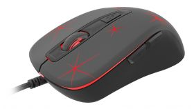 Genesis Gaming Mouse Krypton 110 Optical 2400Dpi Illuminated Black