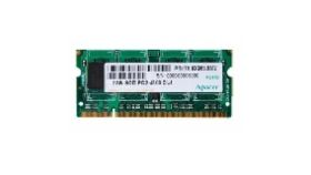 Apacer 2GB Notebook Memory - DDR2 SODIMM PC6400/800 64x8 CL5.0 RoHS