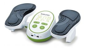 Beurer FM 250 EMS stimulator; Impulse massage; 6 electrodes; 2 channels; Timer; 2 level locking; remote control