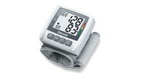 Beurer BC 30 Wrist blood pressure monitor; risk indicator; arrhythmia detection; medical device; circumferences 13.5-19.5 cm; storage bag