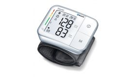 Beurer BC 57 BT Wrist blood pressure monitor; risk indicator; arrhythmia detection; bluetooth, 2 user memoriers, medical device; circumferences 14-19.5 cm; storage bag