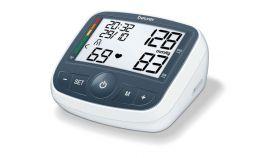 Beurer BM 40 Upper arm blood monitor; risk indicator; arrhythmia detection; XL display medical device; circumferences 22-35 cm; incorrect usage message, storage bag