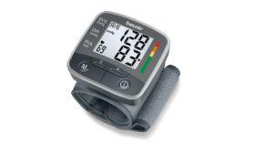 Beurer BC 32 Wrist blood pressure monitor; risk indicator; arrhythmia detection; morning and evening blood pressure; medical device; circumferences 13.5-19.5 cm; storage bag