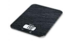 Beurer KS 19 slate kitchen scale; 5 kg / 1 g