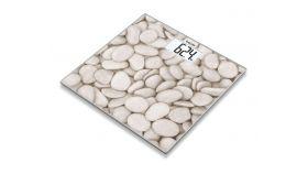 Beurer GS 203 Glass bathroom scale,Stones, 150 kg/100 g, 5 years warranty