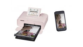 Canon SELPHY CP1300, pink + Canon Ink/Paper kit PCC-CP400 + KC-36IP + KC-18IL