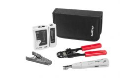 Lanberg network tool case w. network tools and tester