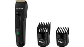 Rowenta TN5200F4  Hair trimmer Advancer, hair, washable blades, self-sharpening stainless steel blades, 120min autonomy, lithium - ion, full charging 1h30min, 2 combs, cordless + corded, cleaning brush & oil