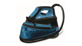 Rowenta VR7046 Liberty blue & black,fast heat up 2min., 5,5 bars, 100g/min, shot 220g/min- microsteam 400, stainless steel soleplate AIRGLIDE, auto off - water tank 1,2L
