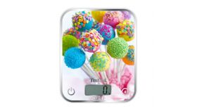 Tefal BC5121V0, Optiss, Kitchen Scale, up to 5kg, Resolution 1g function Tara, Digital LCD display, Delicious Cake Pops