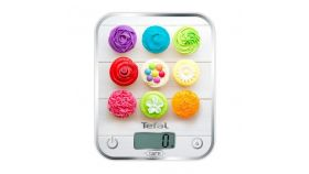 Tefal BC5122V0, Optiss, Kitchen Scale, up to 5kg, Resolution 1g function Tara, Digital LCD display, Delicious Cupcakes