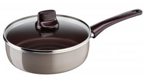 Tefal D5023253, Pleasure, Sautepan, 24cm with lid