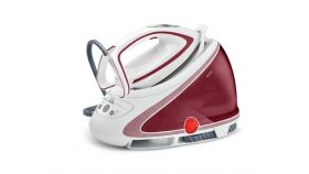 Tefal GV9571E0, Pro Express Ultimate red, fast heat up 2min - multisetting on handle - 7,8bars - 160g/min - steam boost 500g/min - Airglide Autoclean ultra thin soleplate - anti stains - removable water tank 1,9L - calc collector - lock system