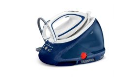 Tefal GV9580E0, Pro Express Ultimate blue, fast heat up 2min - multisetting on handle - 8bars - 180g/min - steam boost 500g/min - Airglide Autoclean ultra thin soleplate - anti stains - removable water tank 1,9L - calc collector - lock system