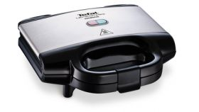 Tefal SM157236 Ultracompact white, grill plate, 700W, on/off, ready-cook button, LED